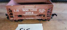 SOO LINE 81714 COAL - ORE CAR, HO SCALE