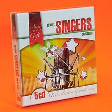 GREAT SINGERS ON STAGE 5 CD Aretha Franklin Donna Summer Tina Turner Nina Simone