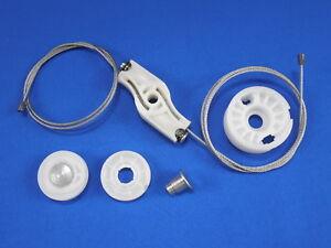 2005-10 Ford Mustang Convertible Rear Window Regulator Repair Kit with rollers