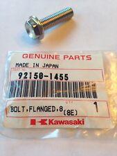 KAWASAKI BOLT, FLANGED 8 X 30 KDX, KX, KLX 92150-1455 NOS!
