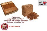 new Hydro Compressed Coco Fibre Growing Coir Potting Soil Mix Block 10 L Ltrs