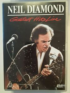 Neil Diamond Greatest Hits Live Music DVD More Music DVDs In Store