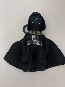 "Star Wars Disney Darth Vader Toy Clip Key Chains  Clip 5""Soft Plush"