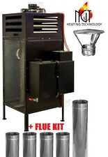 Waste oil heater  burner blow air heating 30 kW 102365BTU/h + FLUE KIT
