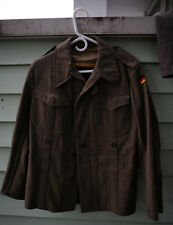 Vintage WEST GERMAN ARMY military olive green coat uniform sz 8 jacket M