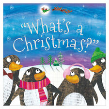 """'What's A Christmas?"""" Picture Reading Book. Festive Gift Xmas Stocking Filler"""