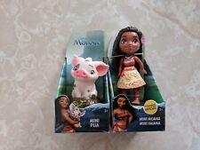 Disney Princess Mini Toddler Doll MOANA Pua Pig Lot RARE