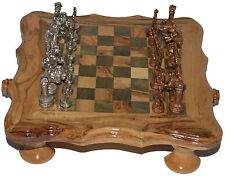 Metallfiguren Handarbeit Unikat für Schachspiele Metal Figures Chess Set Neu