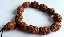 wholesale 5pc vogue design Cool Buddhism head Bead Heavy tibet Bracelet