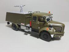 Miniature camion pompier militaire armé DIREKT COLLECTION Berliet GLC VMA 1/43