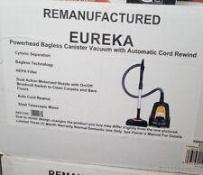 Eureka Canister Vacuum Powerhead Bagless HEPA Filter Yellow Black Ready Force