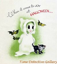 Vintage Halloween Graphic Poster #13 - 3 Sizes Available