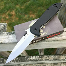 Kershaw Emerson CQC-4KXL 8Cr14MoV Plain Edge G10 Handle Knife 6055