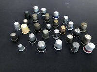 Estate Vintage Lot Of 20 + Thimbles- Metal, Plastic,