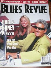 BLUES REVUE MAGAZINE - DECEMBER/JANUARY 2002 - ROD & HONEY PIAZZA