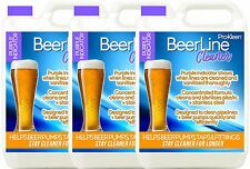 More details for purple beer line cleaner sanitise pipe pump wash cleaning pub bar lines 3 x 5l