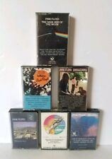 6 Play TESTED CASSETTE Tapes Pink Floyd Rock Tape Lot