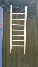 handmade wooden ladder for all birds, rodents, rabbits and guinea pigs