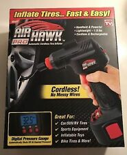 NEW Air Hawk Pro Automatic Cordless Tire Inflator Portable Air Compressor