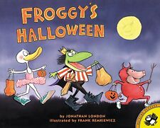Froggy Series Froggy's Halloween by Jonathan London (2001, Paperback, Revised)