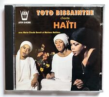 Toto Bissainthe chante Haïti | CD | Arion 1989