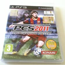 PRO EVOLUTION SOCCER PES 2011 PS3 PLAYSTATION 3 ITALIANO SPED GRATIS + ACQUISTI