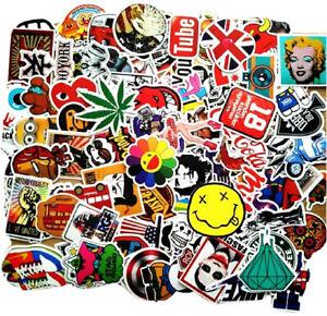 UK 50 Best Random Cool Sticker Pack Decal Vinyl Guitar Luggage Skateboard Laptop