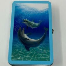 Find It 3D Dolphin Royce Supply Pencil Metal Tin Box School Supplies