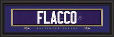 Baltimore Ravens Joe Flacco Signature Framed Print - NFL Poster Sign Man Cave
