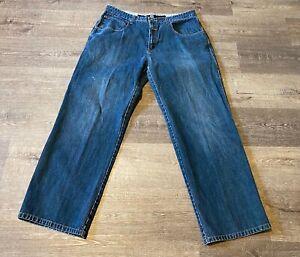Marithe Francois Girbaud BlUE Jeans  Cotton Men's Size 38M x 31.5, See Photos