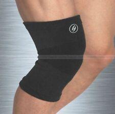 Black-Soft Orthopedic Elastic Compression Knee Pullover Support Wrap Brace Guard