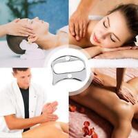 Silber Edelstahl Faszienmassagegerät Schaber Muskelmassagegerät Physiotherapie