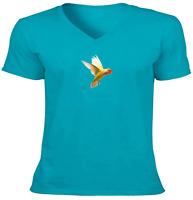 Cute Parrot Yellow Bird Unisex Tee T-Shirt Mens Women Gift Shirts Print