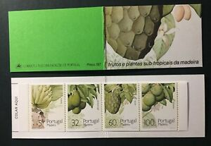 Portugal 1990 - Madeira Fruits booklet MNH