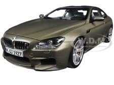 BMW M6 F13M COUPE FROZEN BRONZE 1/18 DIECAST CAR MODEL BY PARAGON 97053