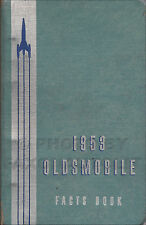 1953 Olds Facts Book Dealer Album Oldsmobile 88 98 Showroom Data Accessories