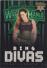 LITA  Fleer 2004 WWE RING DIVAS *GOLD PARALLEL* Card #60 RARE!