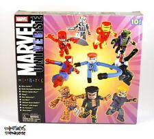 Marvel Minimates TRU Toys R Us 10-Piece Gift Pack Box Set (Silver Surfer, Venom)