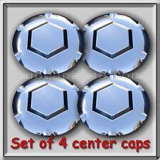Chrome 2002-2003 GMC Envoy XL, XUV Center Caps Hubcaps For Aluminum Wheel Set 4