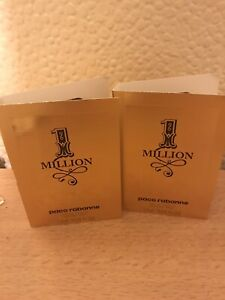 Paco Rabanne One Million Aftershave Samples