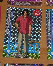 NINKU RARE TRADING CARD CARDDASS PRISM CARTE 3 VERSION HARD MADE JAPAN 1995 **