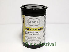 5 rolls ADOX Silvermax 100 35mm 36exp B&W Film 135-36
