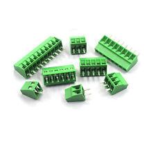 KF128 2.54MM Pitch 2/3/4/5/6/7/8/9/10P Terminal Block Screw PCB Connectors Moun
