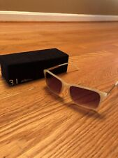 3.1 Phillip Lim Sunglasses In Ivory And Gold