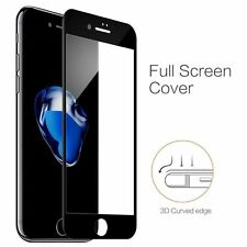 Wholesale JobLot 7x3D Curved Black Tempered Glas Protector For iPhone 6+/6s Plus
