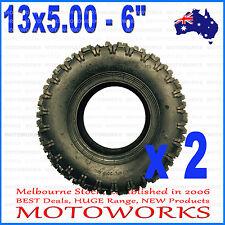 "2 X 13 x 5.00 - 6"" inch Tyre Tire ATV QUAD Bike Gokart Scooter mini Buggy Mower"