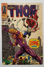 The Mighty Thor #140 1st Growing Man! (1967, Marvel)