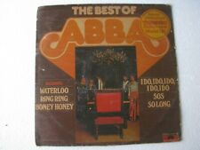 The Best of Abba World LP Record India-1828