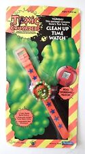 Vintage 1991 TROMA Toxic Crusaders Toxie Clean Up Time Watch Unopened RARE!