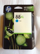 HP 88XL Cyan OfficeJet Printer Cartridge ~ Exp. Apr 2012